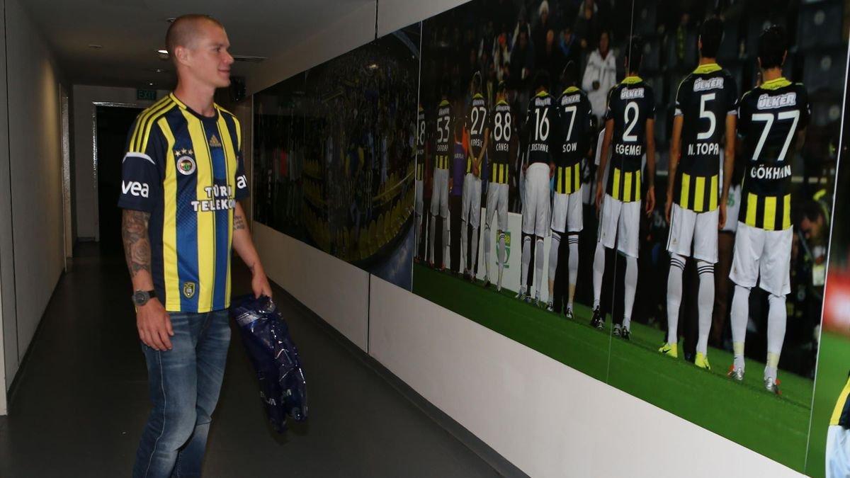 Holmen: Fenerbahçe den önce Beşiktaş la anlaşmıştım #1