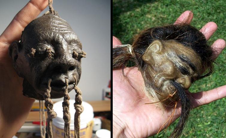 Korkunç gelenek Tsantsa nedir insan kafalarını küçültüp 50 bin dolara satıyorlar!